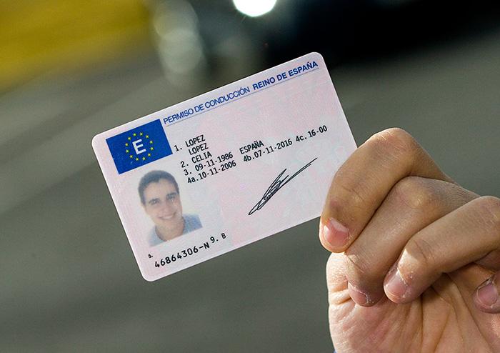 comprar una licencia de conducir