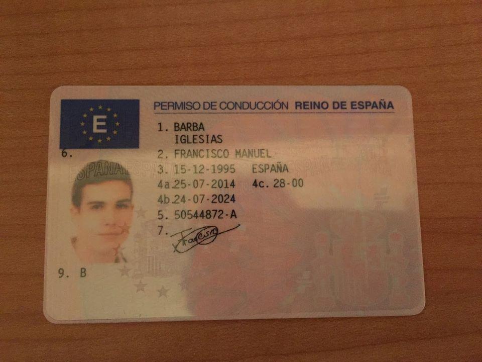 Comprar Carnet de Conducir Legal sin Examen
